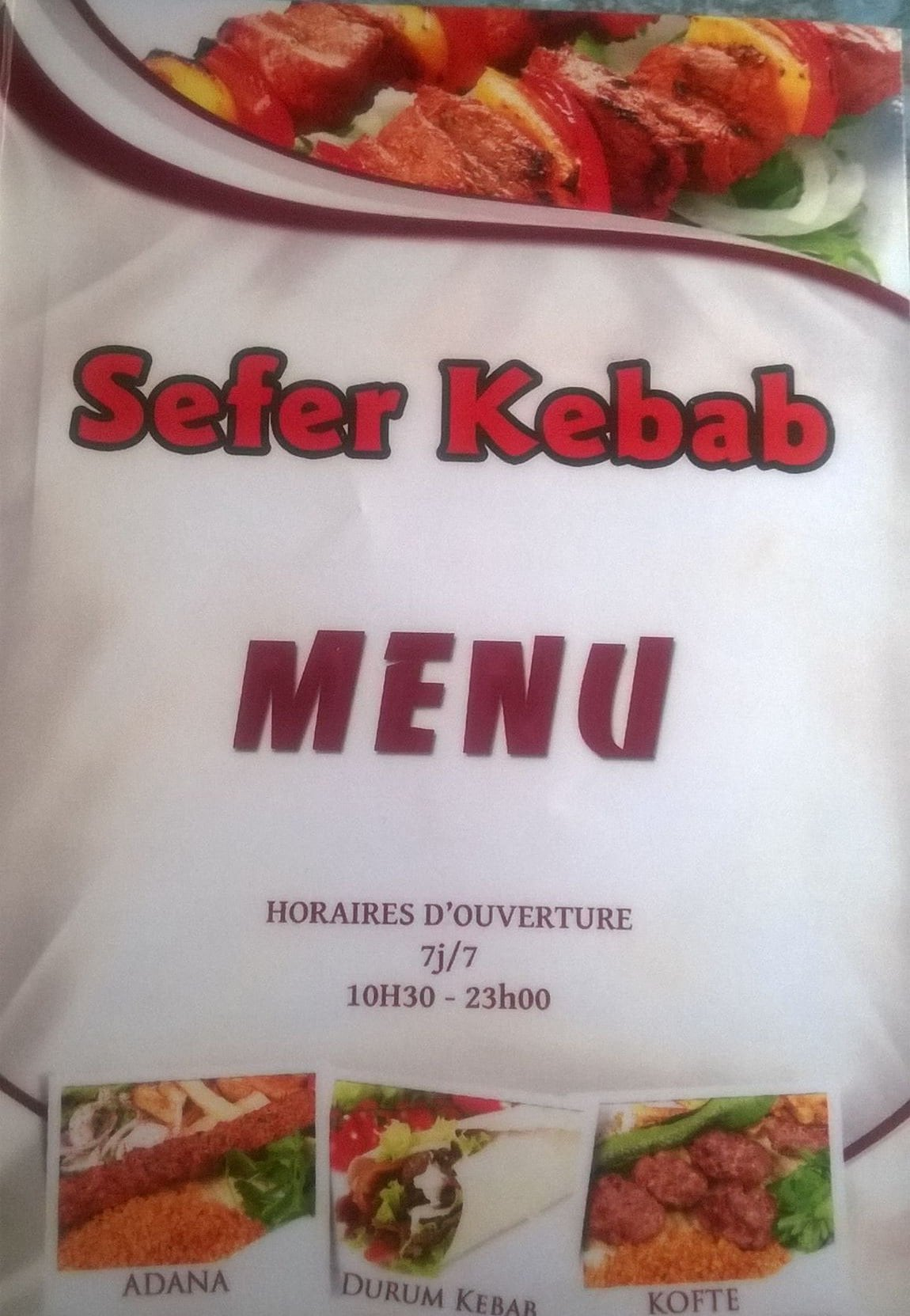 sefer kebab mulhouse carte menu et photos. Black Bedroom Furniture Sets. Home Design Ideas