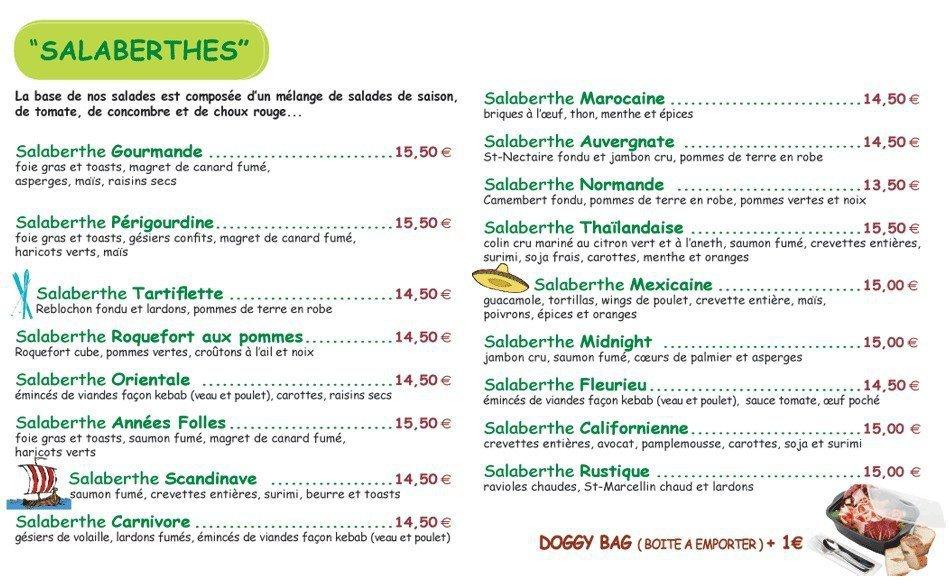 Le Jardin de Berthe à Lyon 2, carte-menu et photos