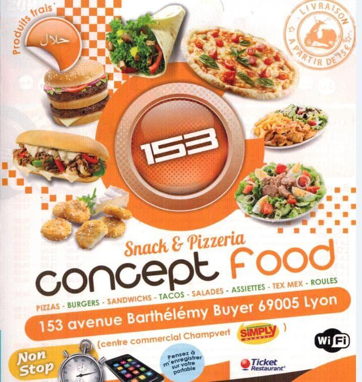 Le 153 à Lyon 5, carte et menu en ligne