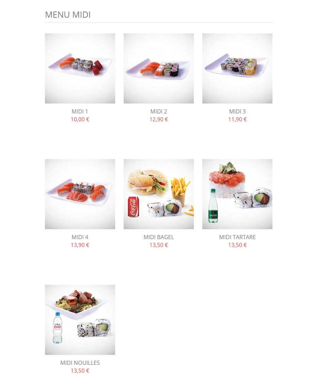 Mika sushi lyon 6 carte menu et photos - Mika japanese cuisine bar ...