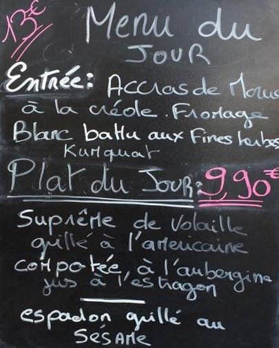 Cuisine en ville villeurbanne carte menu et photos for Cuisine en ville