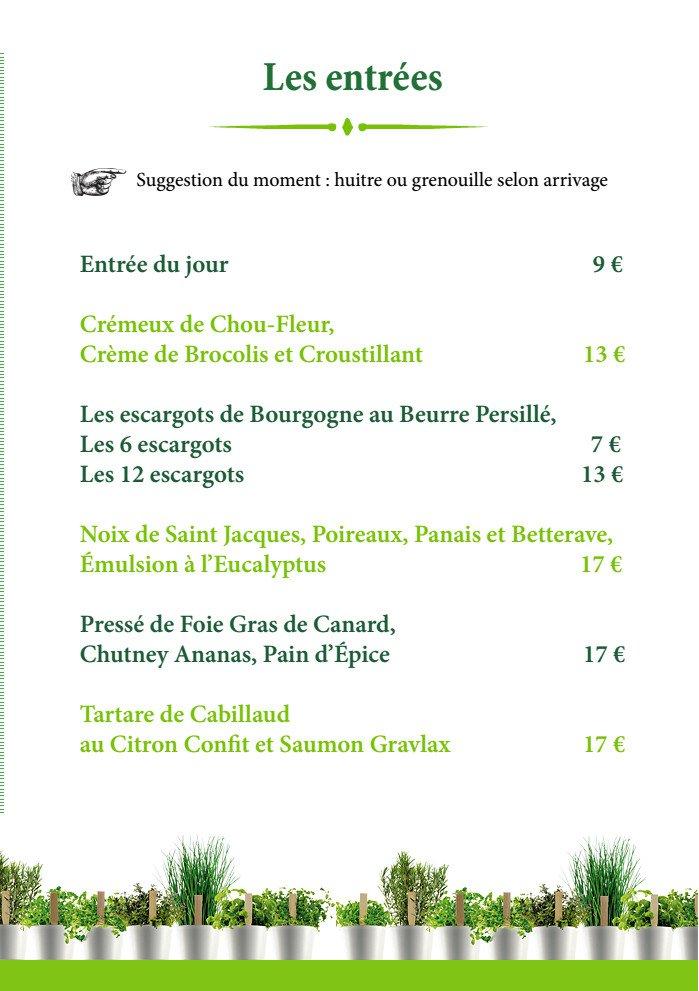 Le jardin gourmand craponne carte menu et photos for Jardin gourmand