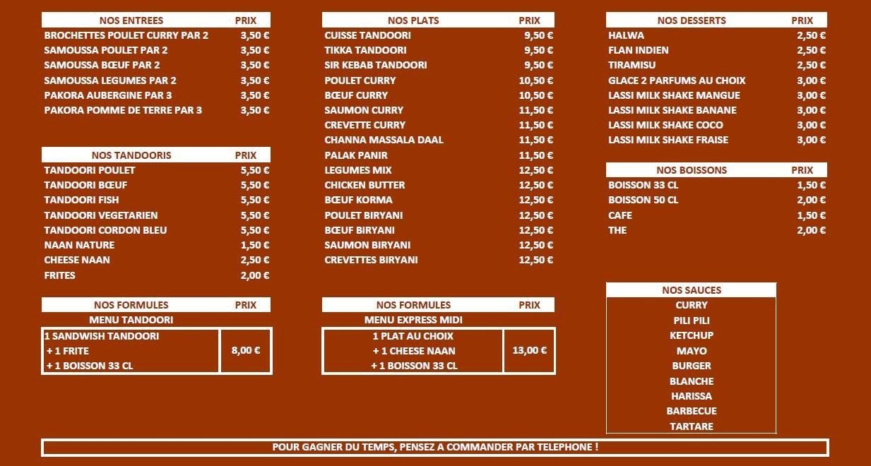Restaurant Indien Caluire