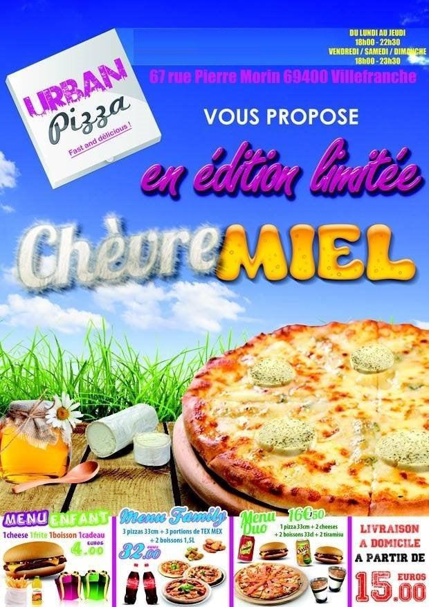 Urban pizza villefranche sur saone carte et menu en ligne - Buffalo grill villefranche sur saone ...