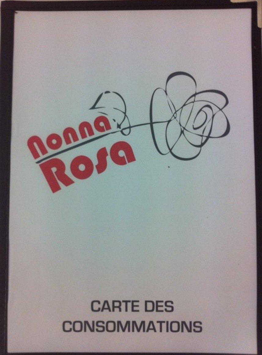 Restauration Rapide Nonna Rosa