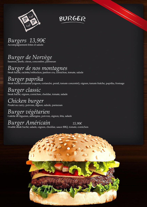 Burger Bar A Aix Les Bains Carte Menu Et Photos