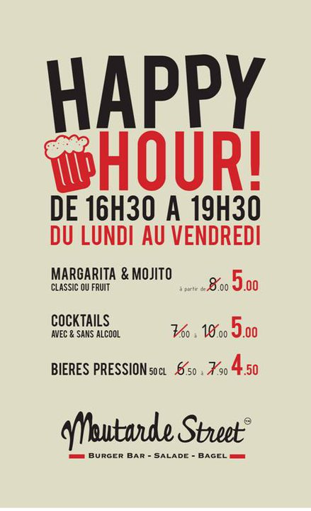 bar happy hour paris