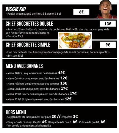 Biggie express paris 11 carte menu et photos for Cafe divan 75011