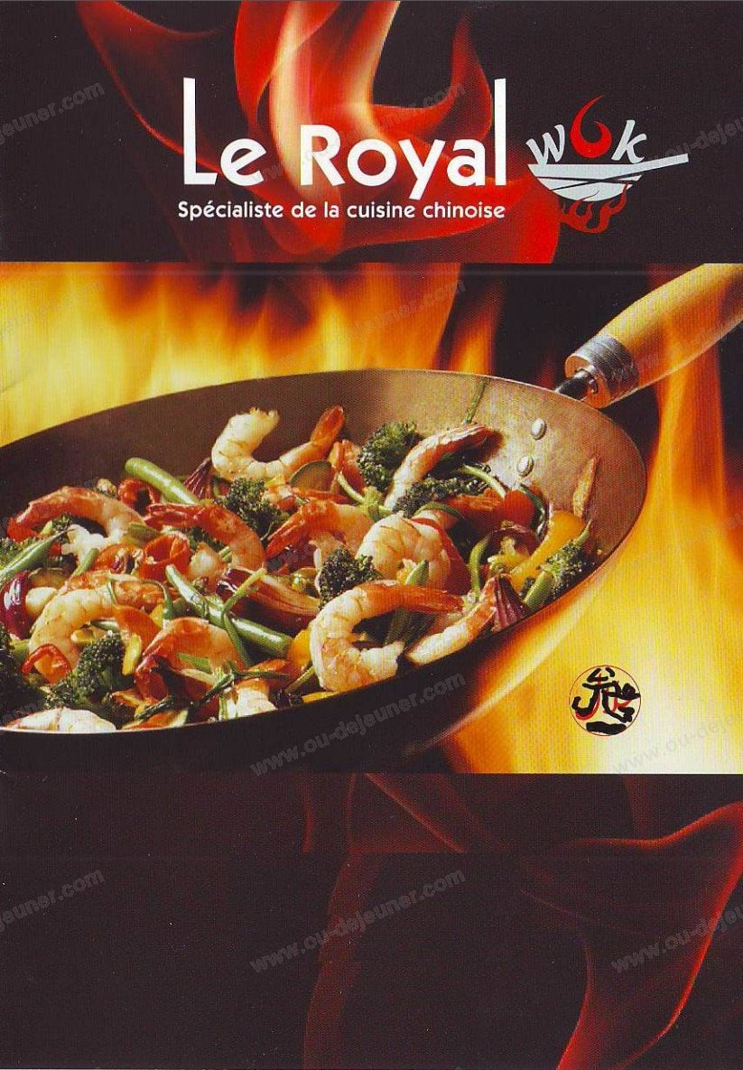 Le Royal Mandarin Express à Paris 11, carte et menu en ligne