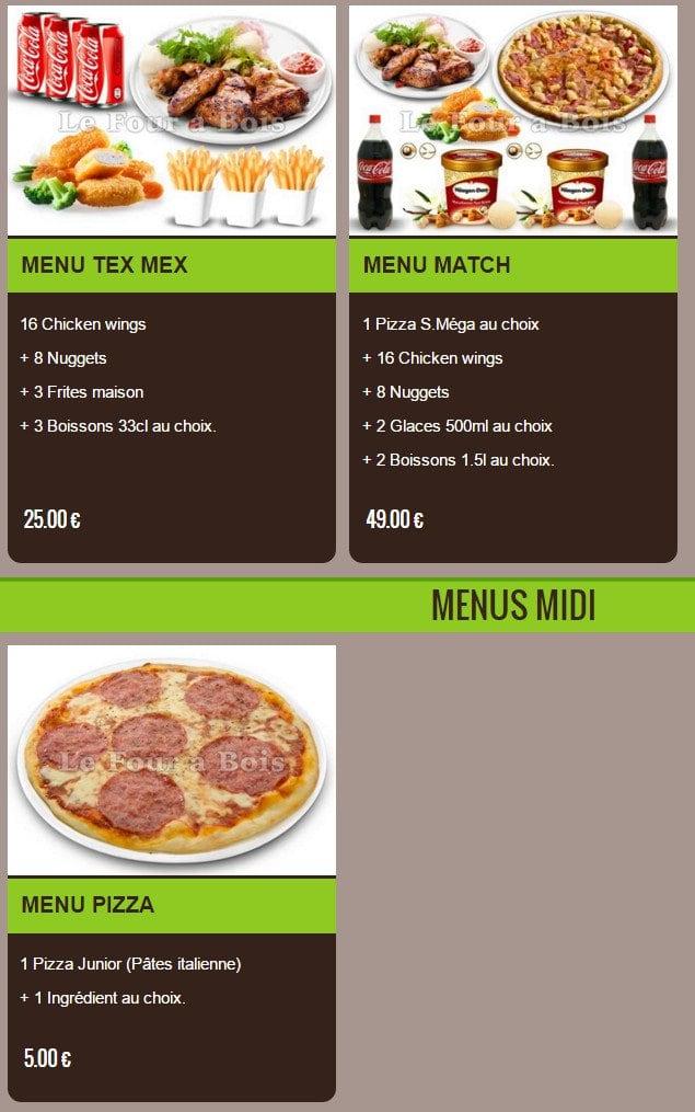 le four pizza elbeuf carte menu et photos. Black Bedroom Furniture Sets. Home Design Ideas