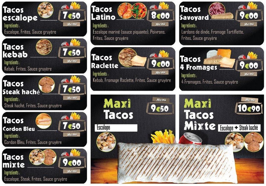star tacos  u00e0 le havre  carte et menu en ligne