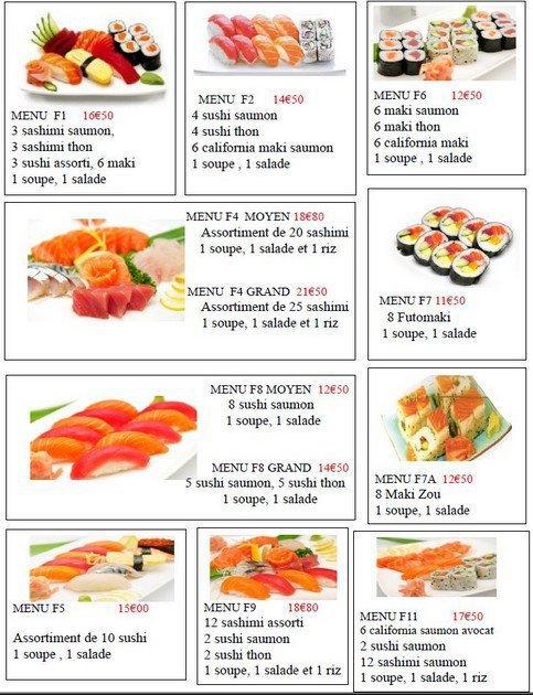 daikichi sushi provins carte et menu en ligne. Black Bedroom Furniture Sets. Home Design Ideas