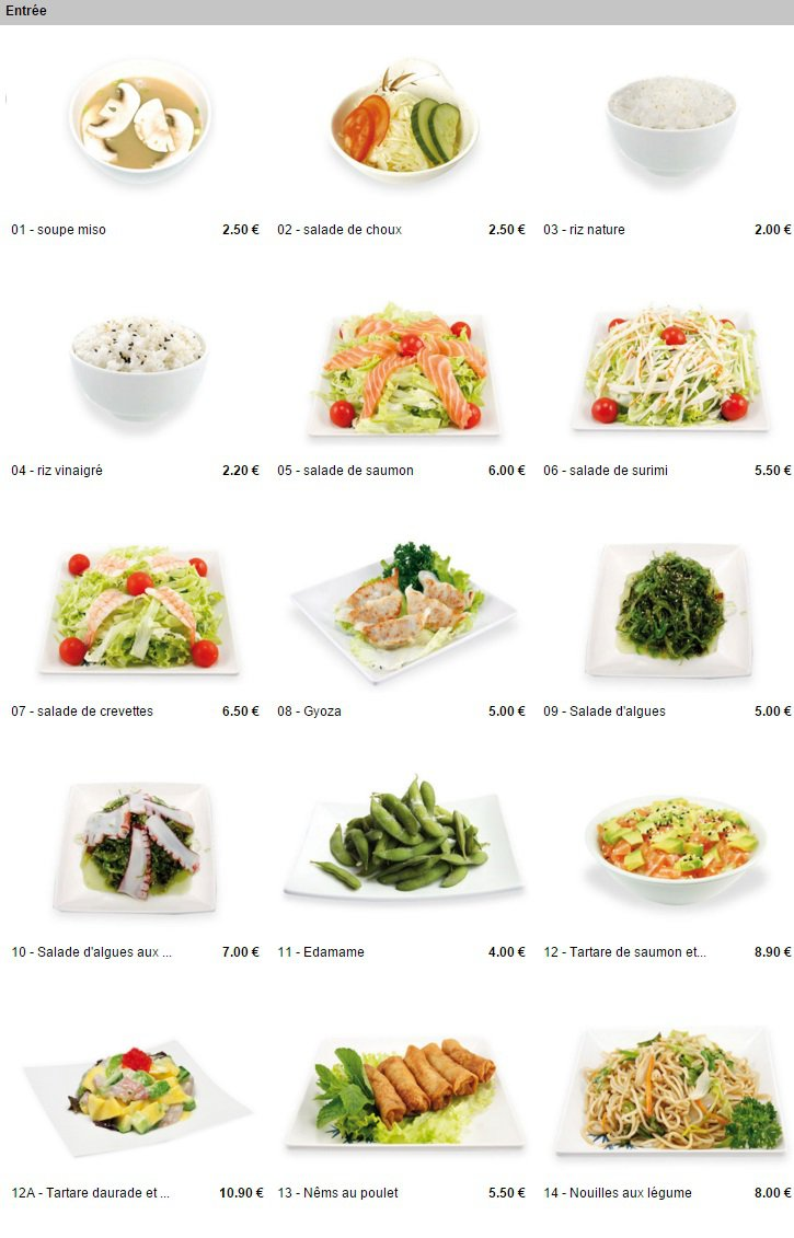 pontault sushi pontault combault carte menu et photos. Black Bedroom Furniture Sets. Home Design Ideas