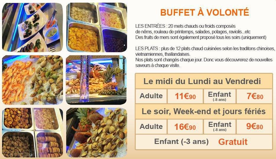 buffet a volonté nantes