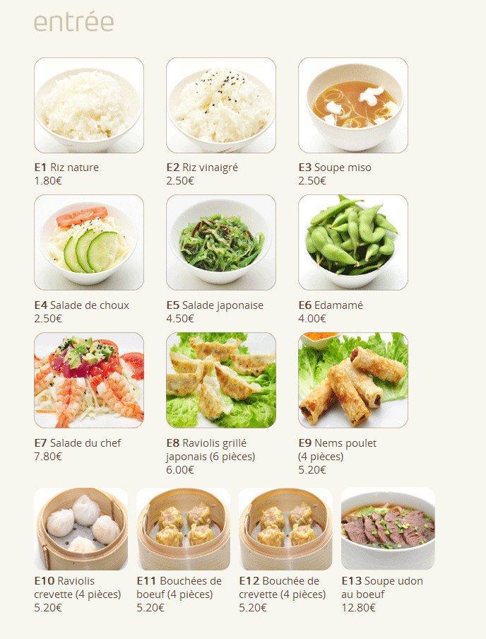 Hokka do rambouillet carte menu et photos for Japonais rambouillet