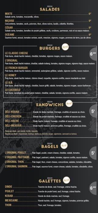 L 39 olivier les mureaux carte menu et photos - Buffalo grill les mureaux ...