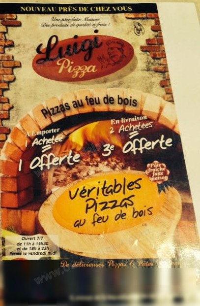 Pizza luigi les mureaux carte menu et photos - Buffalo grill les mureaux ...