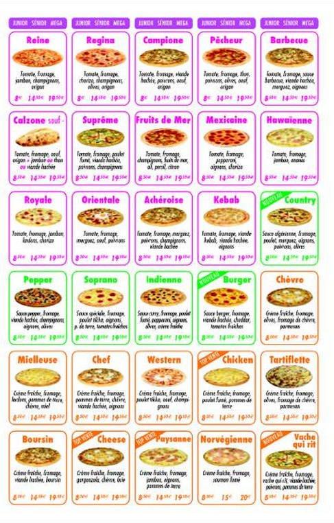 Carte Buffalo Acheres.Family Pizza A Acheres Carte Menu Et Photos