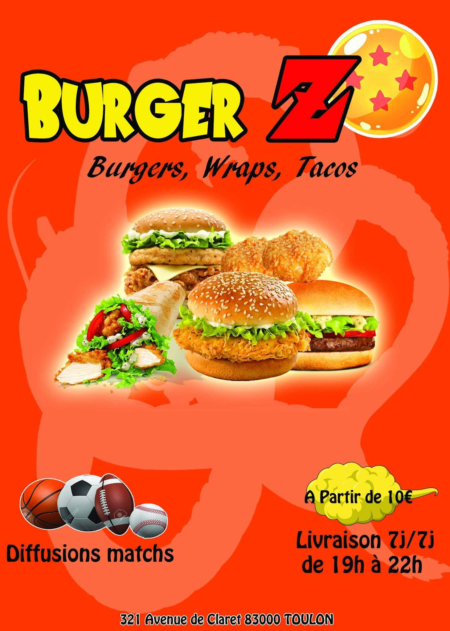 burger z toulon carte menu et photos. Black Bedroom Furniture Sets. Home Design Ideas