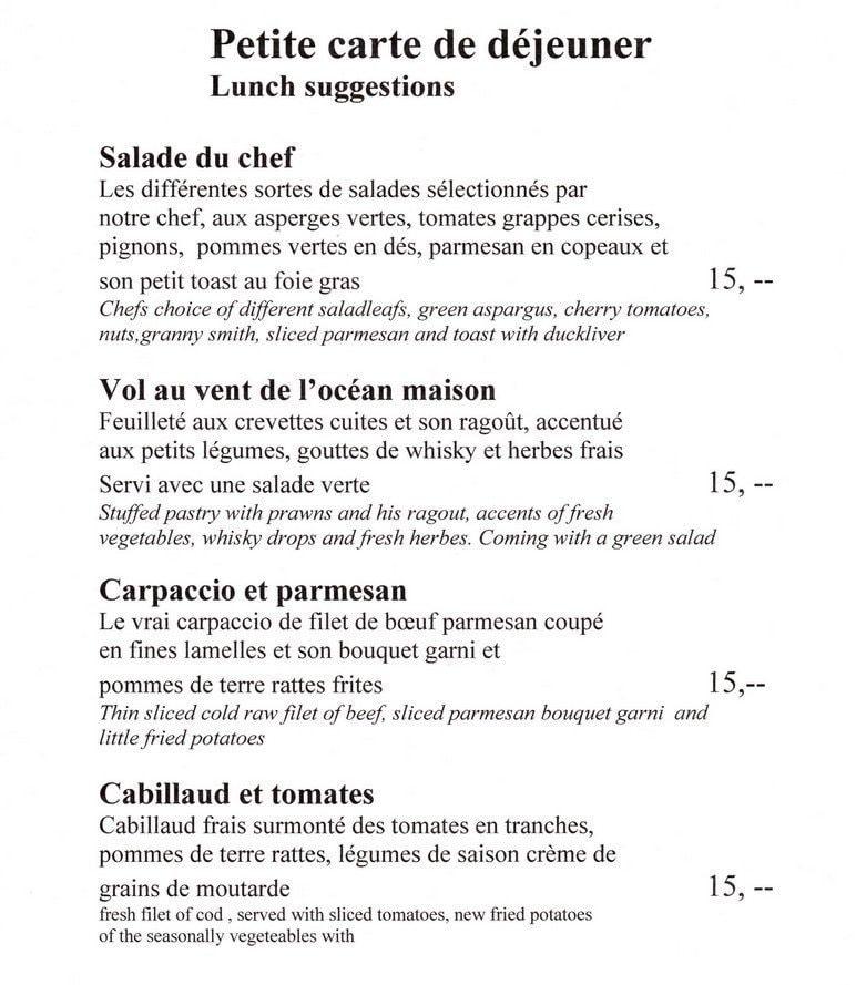 La salle manger flayosc carte menu et photos for Salle a manger menu