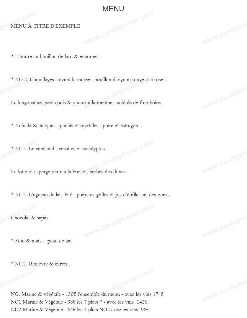 Restaurant la marine noirmoutier en l 39 ile carte menu et photos - Restaurant la marine noirmoutier ...