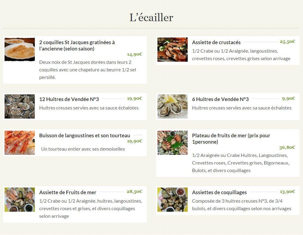 Restaurant Le Charlotin St Gilles Croix De Vie