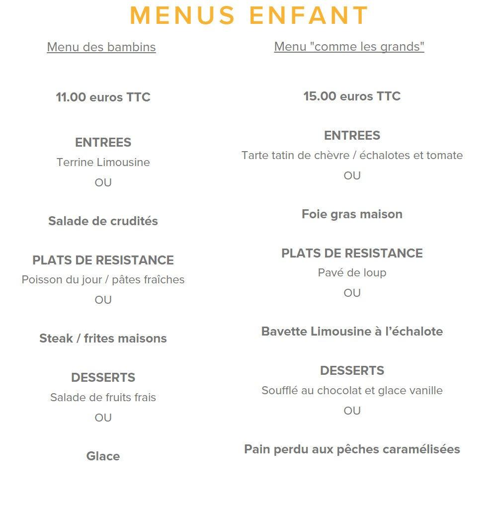 Le renaissance limoges carte menu et photos - Brasserie lutetia menu ...