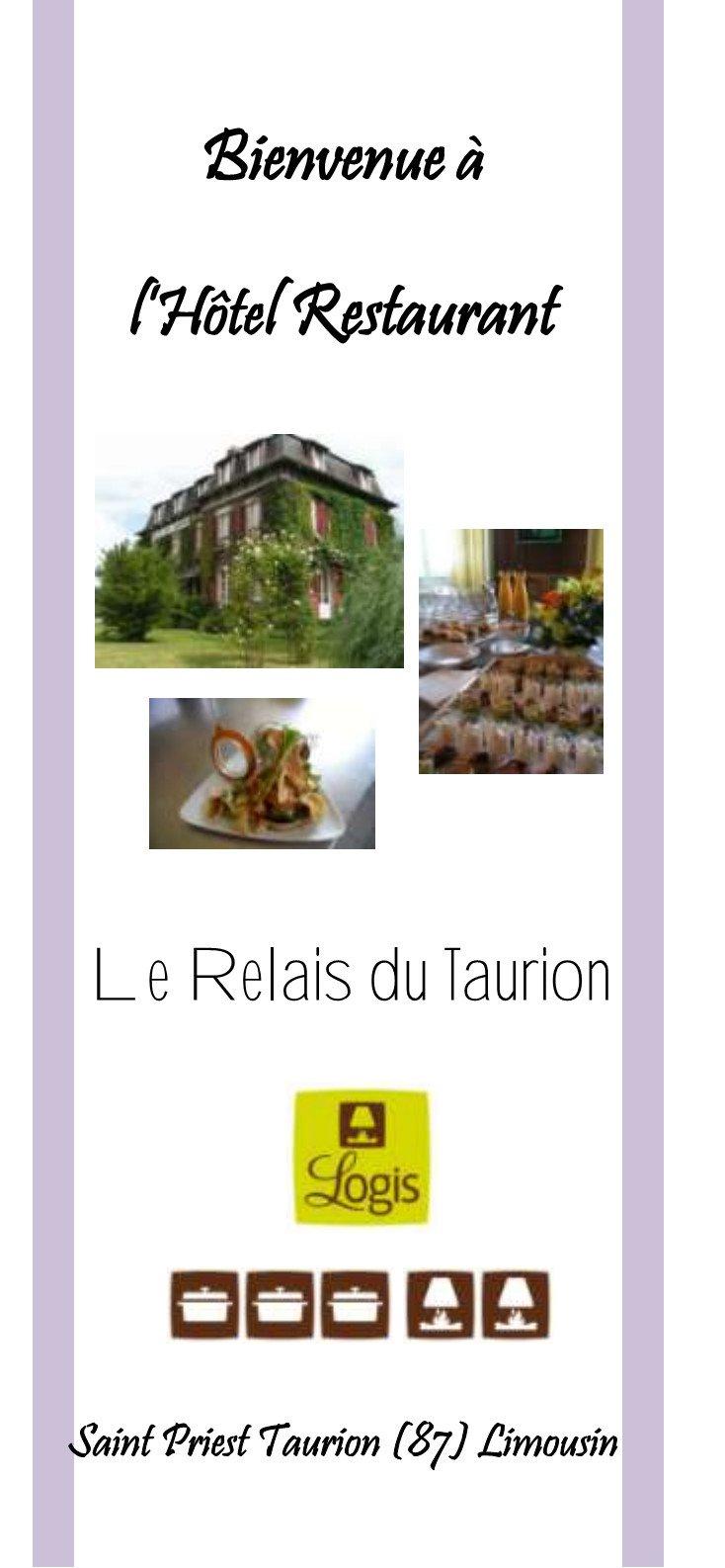 Relais du taurion saint priest taurion carte menu et photos - Stock cuisine saint priest ...
