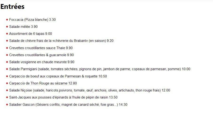 Le vesuvio gerardmer carte menu et photos for Le garage a pizza gerardmer