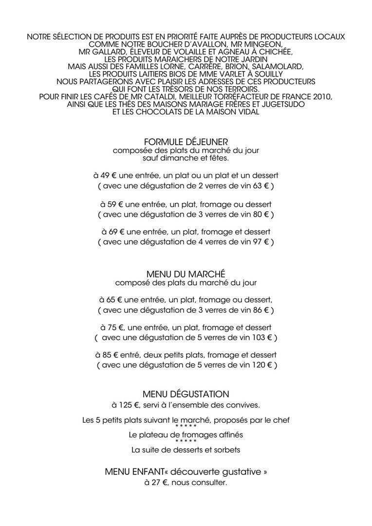 Le jardin gourmand auxerre carte menu et photos for Restaurant craponne le jardin gourmand