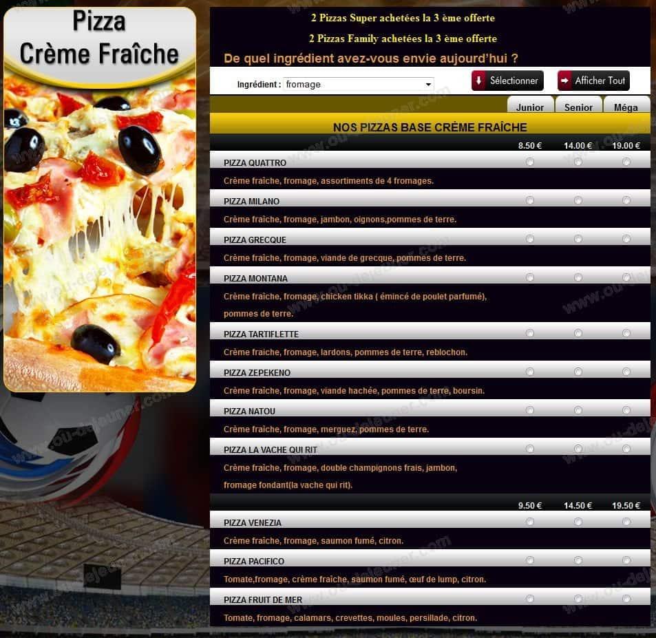 Pizza Ottimoà Sainte Genevieve Des Bois, carte et menu en ligne # Pizza Sainte Genevieve Des Bois