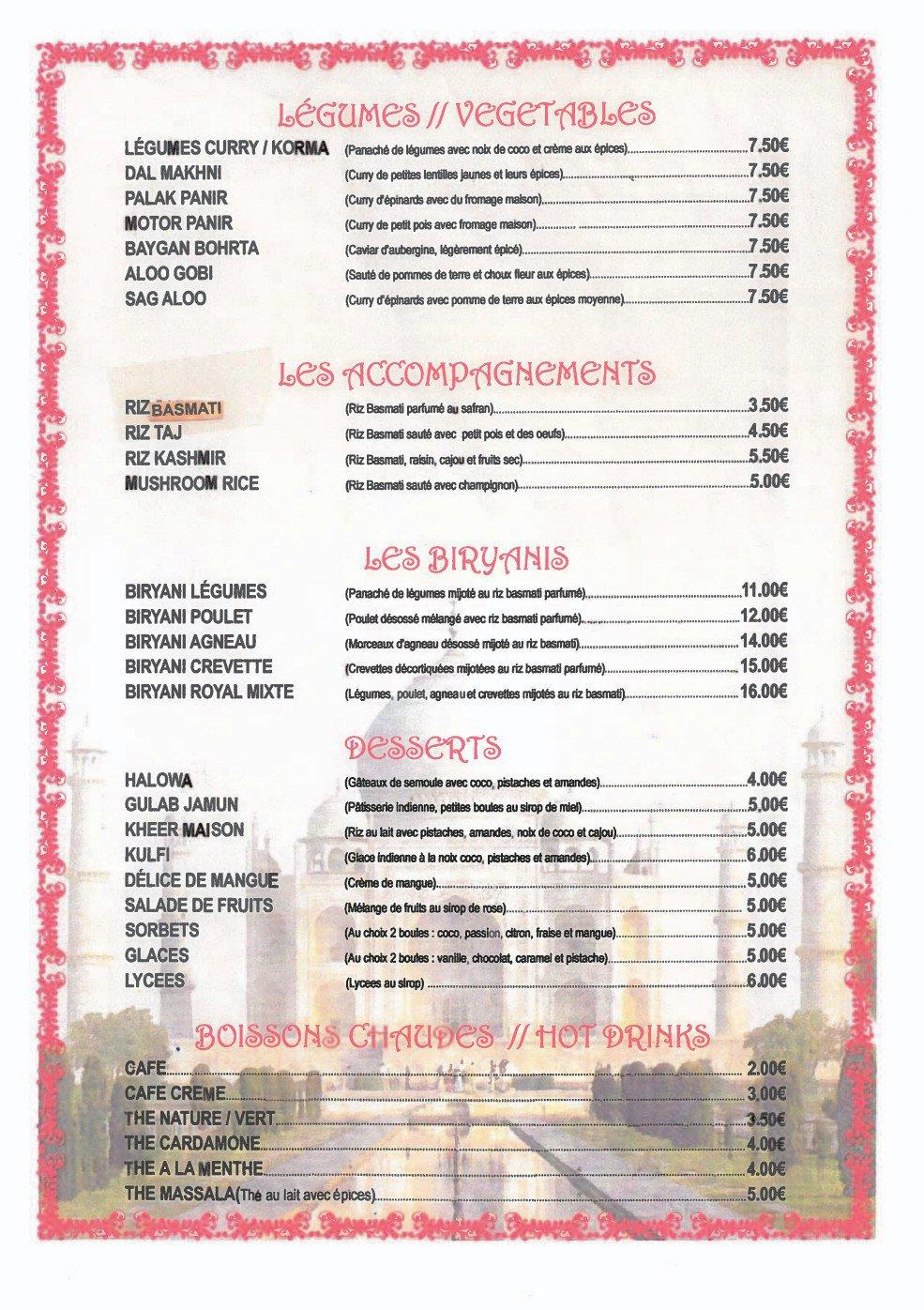 Restaurant Indien  Ef Bf Bd Suresnes
