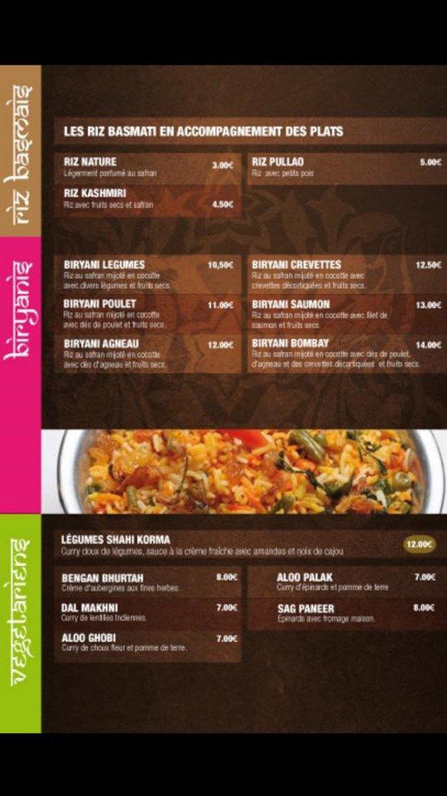 Restaurant Indien Gennevillier