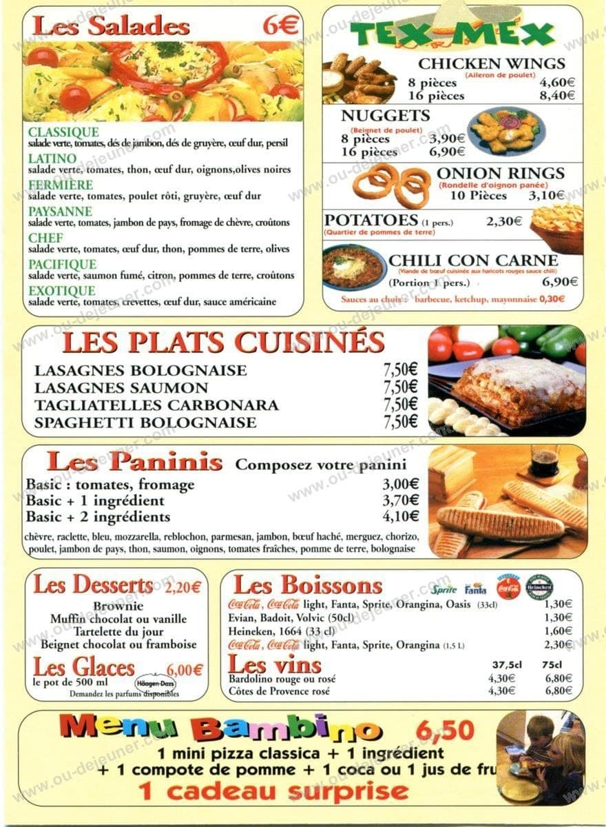 Call Pizza à Les Pavillons Sous Bois, carte et menu en ligne ~ Pizza Pavillons Sous Bois