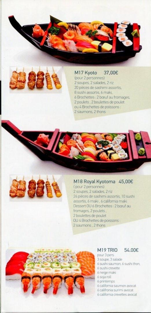 Kyotoma à Les Pavillons Sous Bois, carte et menu en ligne ~ Pizza Pavillons Sous Bois
