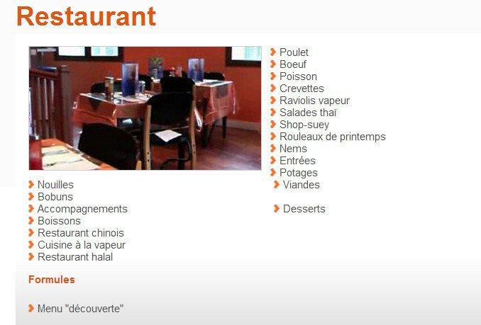 Au resto d 39 asie saint ouen carte menu et photos - Restaurant japonais saint ouen ...