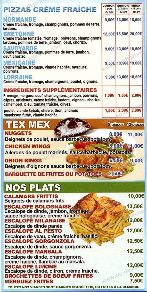Le Pinocchioà Aulnay Sous Bois, carte et menu en ligne # Le Cercle Pizza Aulnay Sous Bois