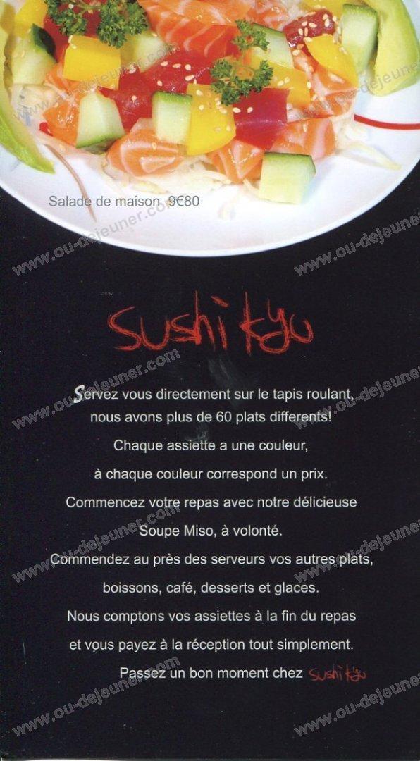 Restaurant Japonais Aulnay Sous Bois - Sushi Kyoà Aulnay Sous Bois, carte et menu en ligne