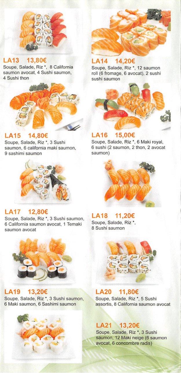 Tokyo 8à Aulnay Sous Bois, carte et menu en ligne # Restaurant Japonais Aulnay Sous Bois