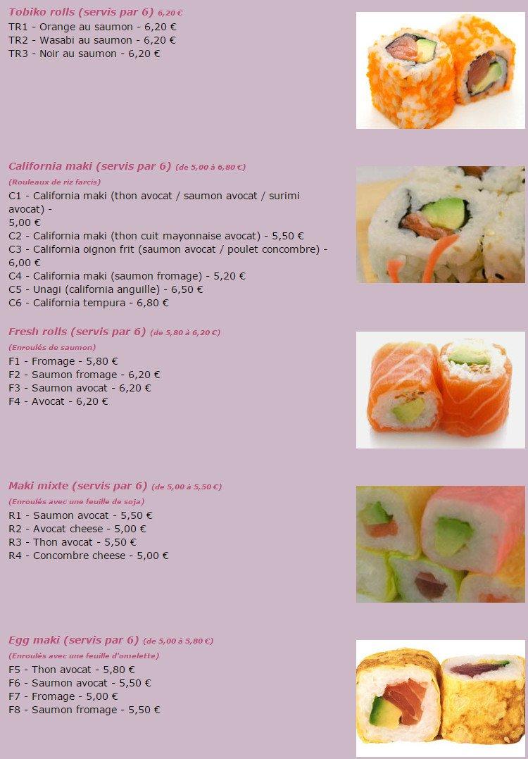 Restaurant Japonais Aulnay Sous Bois - Yaxinggeà Aulnay Sous Bois, carte menu et photos