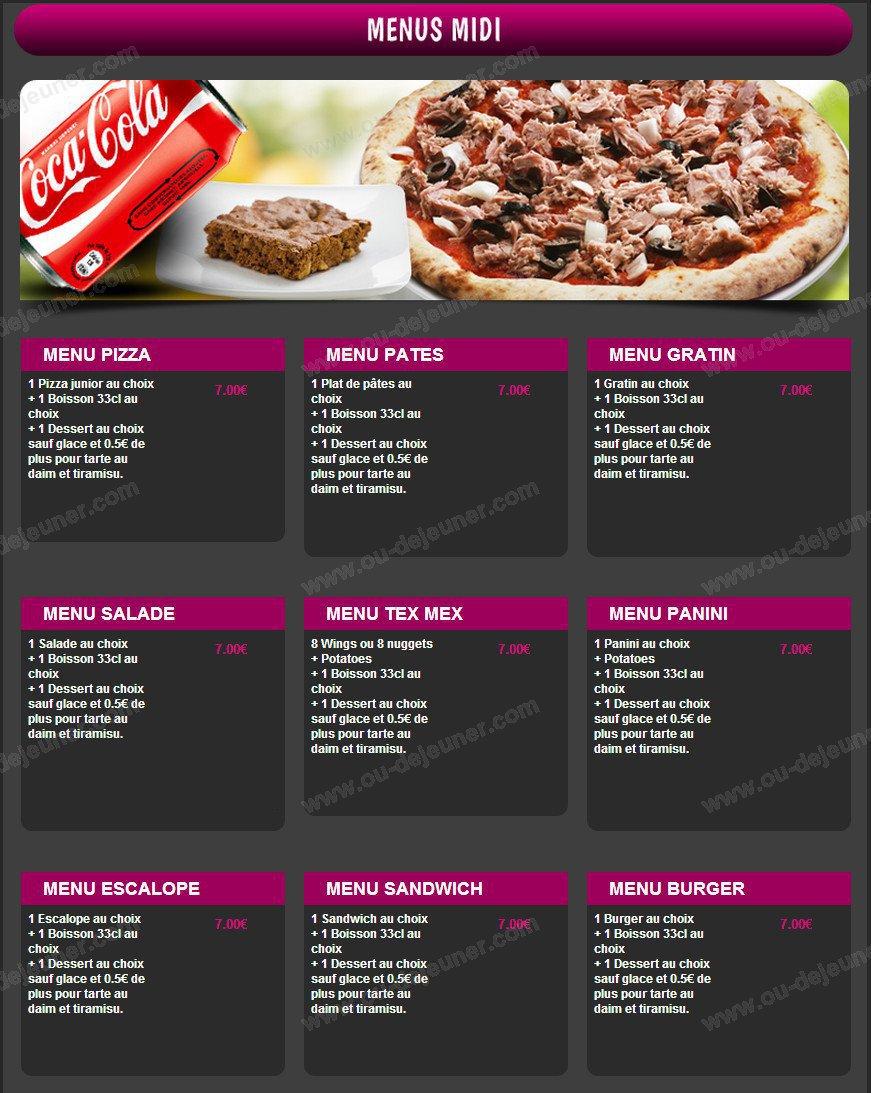 pizza pour dessert