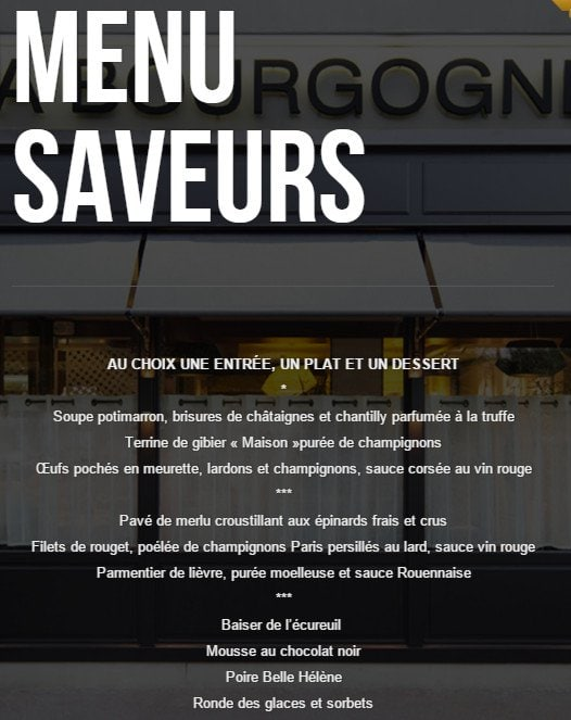La bourgogne maisons alfort carte menu et photos for Bar belge maison alfort