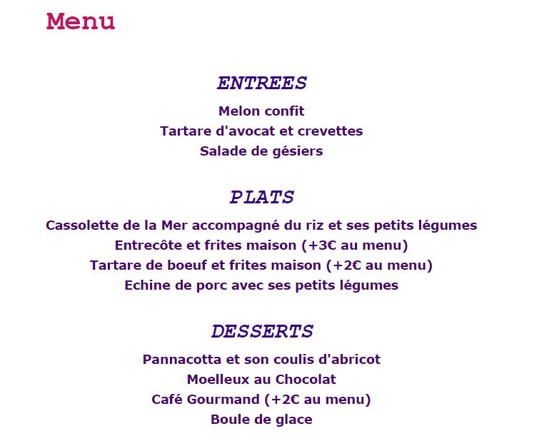 Exceptionnel Restaurant Le One Up à Gonesse, carte-menu et photos OX89