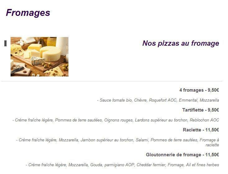 la vall e des pizzas osny carte menu et photos. Black Bedroom Furniture Sets. Home Design Ideas