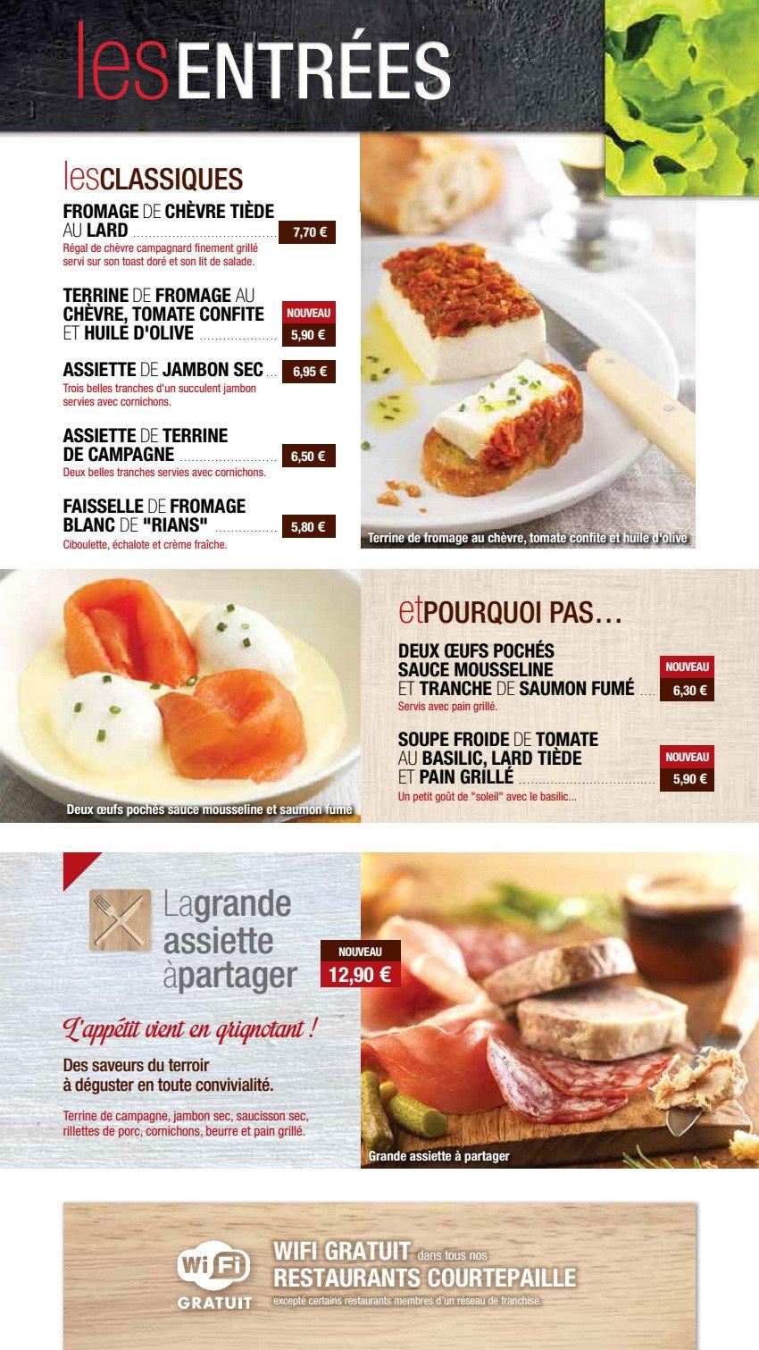 Courtepaille pontault combault carte et menu en ligne - Buffalo grill pontault combault ...