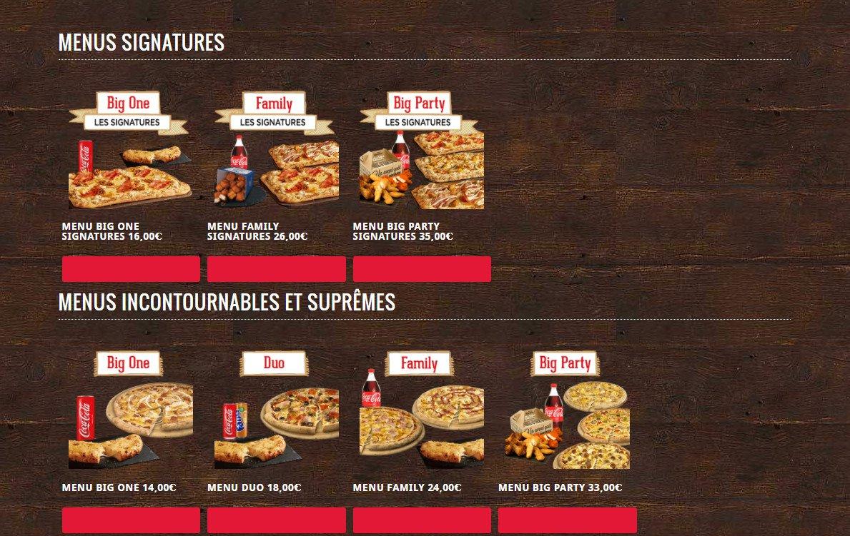 domino's pizza villeurbanne carte