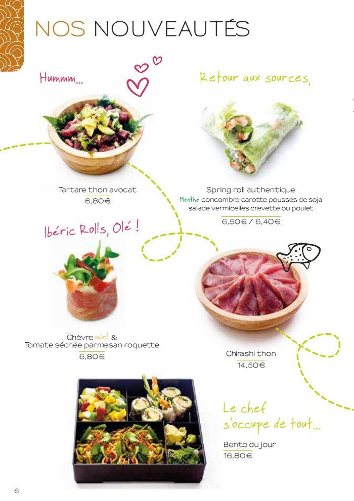 Nikki sushi salon de provence carte et menu en ligne for Menu ete original