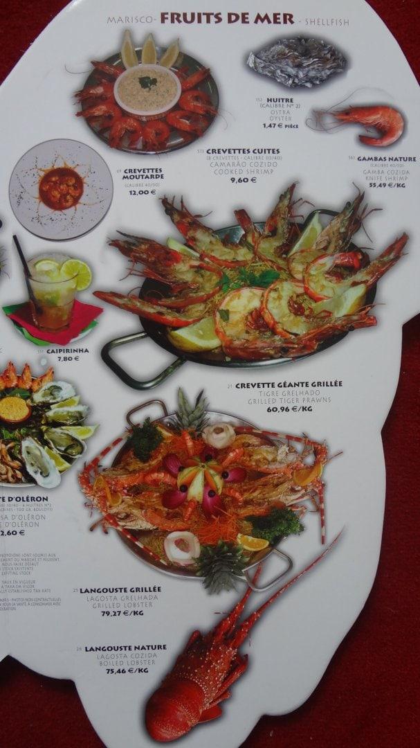 Pedra alta thiais carte menu et photos for Menu ete original
