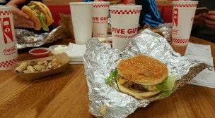 Five Guys - Un burger