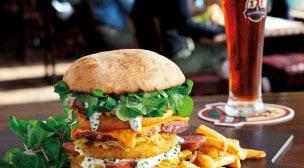 Les 3 Brasseurs - Un burger, frites